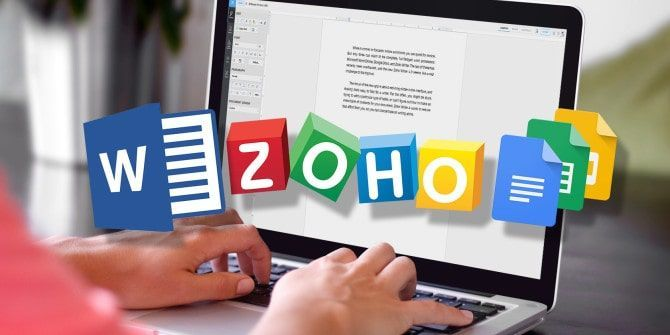 Unifica tus documentos con Zoho Writer