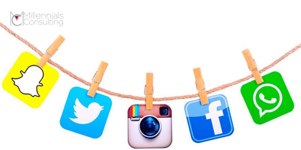 Diseño apps redes sociales