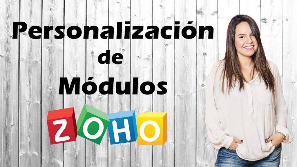 Personalización de modulos zoho crm