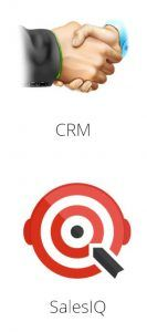 conectar zoho sites con crm sales iq
